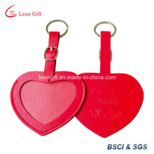 Hotel Using Heart Shape Leather Luggage Label Tags