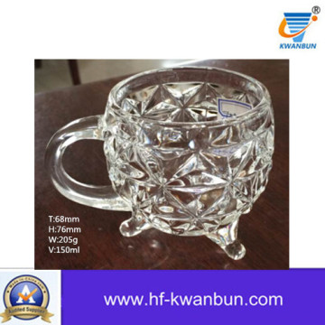 Machine Press Clear Glass Mug Glass Tumbler Kb-Jh06129
