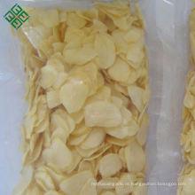 Melhor qualidade assado seco desidratado flocos de alho