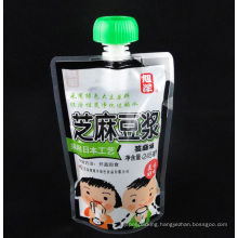 Shock Resistant Juice Packaging Spout Stand up Bag