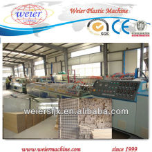 wood plastic profile making machine--plastic machine