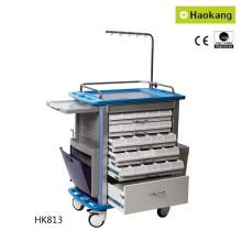 Медицинское оборудование для больничной тележки для доставки лекарств (HK813)
