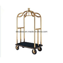 Stainless Steel Luggage Cart (DF81)