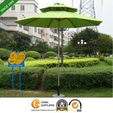 Parapluie de marché Aluminium de 2,5 m jardin Patio Double couche (PU-0025ADC)