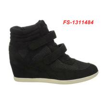 Черный дополнительную глубину спортивная обувь для женщин