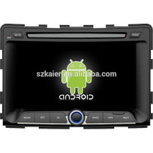 Much in stock ! Android 4.2 touch screen car dvd GPS for Ssangyong Rodius+dual core +OEM+Glanoss+1024*600 touch screen