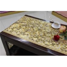 50cm Breite Vinyl PVC Gold Spitze Tisch Tischset in Rolle
