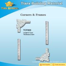 Polyurethane wall corner moldings and frame moldings
