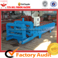 Glazed roof tile sheet roll forming making machine