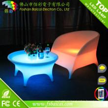 Mesa LED para cafetería / bar