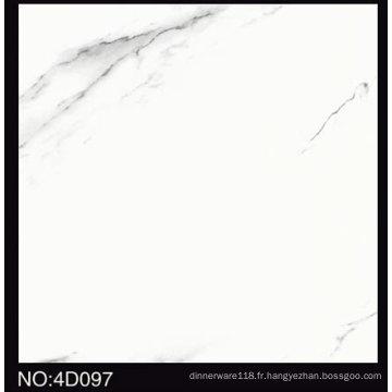 Tuile populaire de plancher en céramique d'impression de jet d'encre de la sélection 600X600