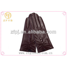 2016 New Style Lady Leather Goat Skin Glove