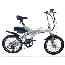 Bici eléctrica plegable barata de la fábrica directa del CE de 36V 250W