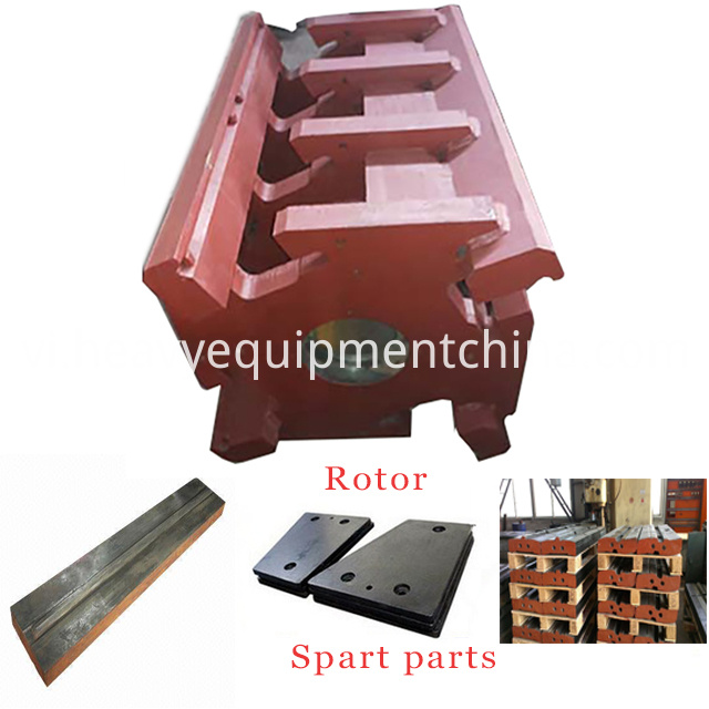 Impact crusher spare parts blow bar