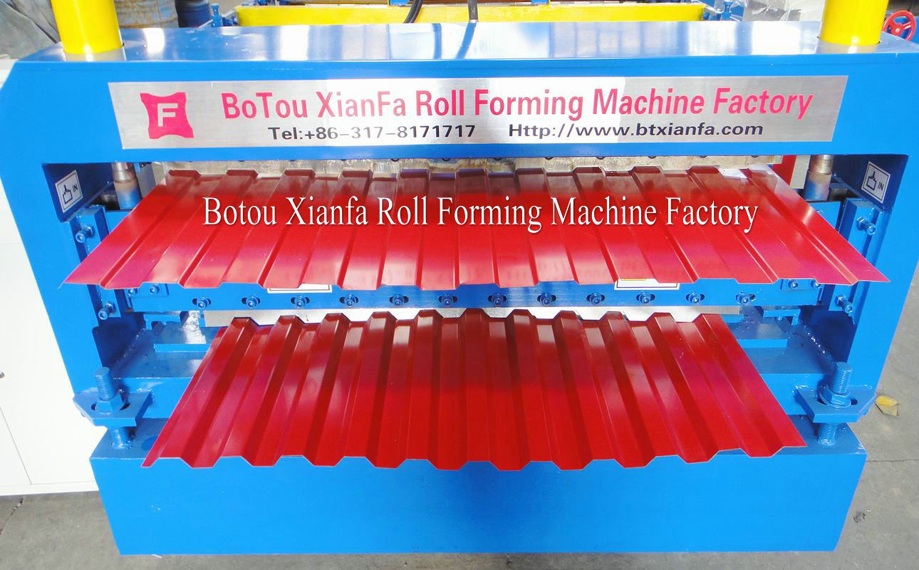 IBR metal panel forming machine