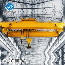 Double grue de pont de faisceau 250 tonnes, double crochet, grue d'EOT