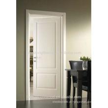 Porta de madeira decorativa do artesão de painel esculpido