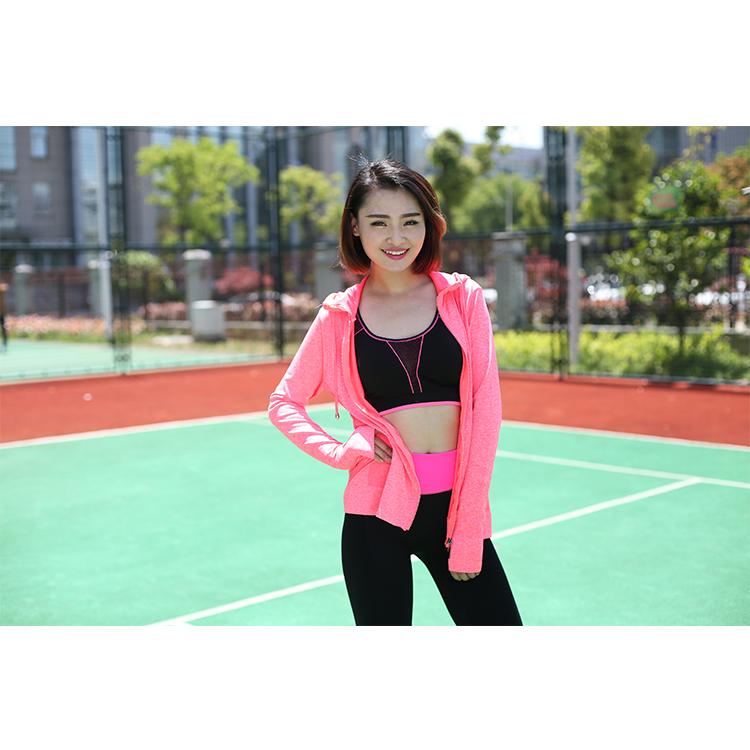 OEM Wholesale Women Fitness Sports Hoodie