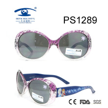 Snow Frozen Beautiful Colorful Kid Plastic Sunglasses (PS1289)