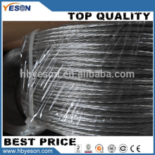 Cable de hierro multistrand de 5 hilos galvanizados de alta resistencia Anping