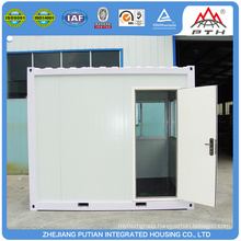 2016 low cost small prefab steel kiosk