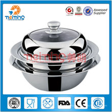new design colorful stainless steel steamer pot