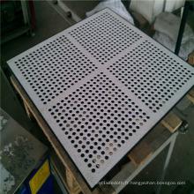 Rouleaux en métal perforé en acier inoxydable