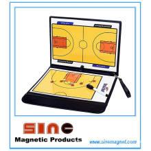 Basket-ball magnétique en cuir de haute qualité