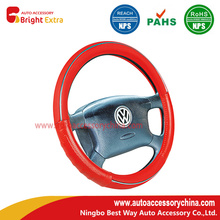 Red Car Steering Wheel Cover