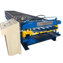 Hydraulic Cutting trapezoidal sheet roll forming machine