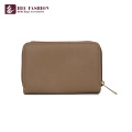 HEC 2018 Ladies Metal Clutch Purse Simple Design Pvc Wallet