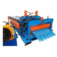 Hot sale best quality shelves metal roofing sheet making roll forming machine
