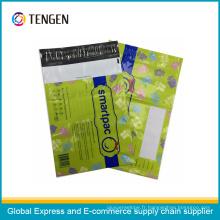 Sac d'emballage express imprimé coloré de style personnalisé résistant à la déchirure