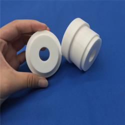 Wear Resistant Industrial White ZrO2 Ceramic Zirconia Ring