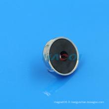 Aimants en céramique ronde céramique en ferrite