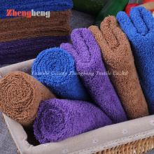 100% Microfiber Material High and Short Loops Towel