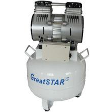 Compressor de ar dental sem óleo de 850W (GS-II)