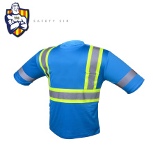 Beautiful design safety ansi security industrial safety fluorescent shirt