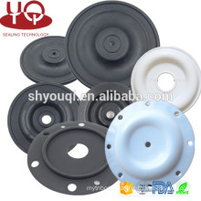 Rubber seals Diaphragm of mechanical pump industry NBR/PTFE Clip type fabric reinforced diaphragms