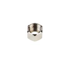 Couvercle d'écrou hexagonal en laiton pour équipement de plomberie
