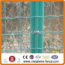 PVC revestido tejido euro malla de alambre malla de rollo