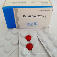GMP Certified Gastritis Drugs Ranitidine Tablets