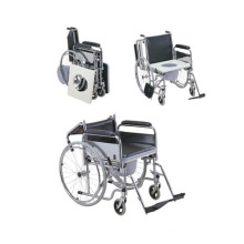 2016 Hot Sale Portable Commode Wheelchair