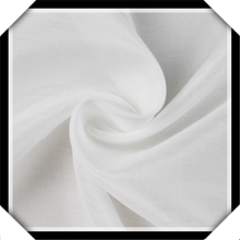 Soft Touch Rayon White Fabric For Dress