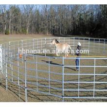 La venta directa de la fábrica utilizó los paneles del corral del caballo / la cerca galvanizada del ganado de ganado