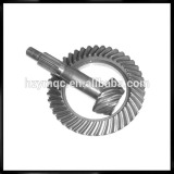 High quality spiral bevel gear in rear drive axle of Pickup truck.