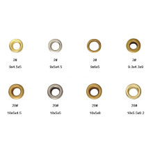 Versatile Metal Eyelets for Shoes, Hats, Handbags, Garments and Leather Work