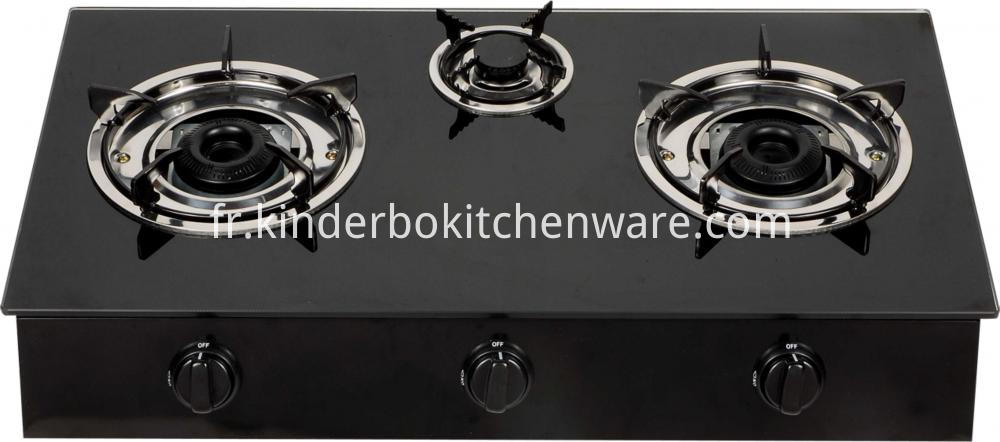 Binatone Glass Table Top Gas Cooker