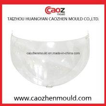 Molde de visera de plástico para el ajuste del casco y el uso de la motocicleta