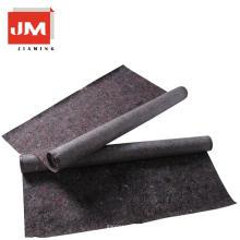 material não tecido renovável da fibra 200gsm telas não tecidas poliéster feltro grosso filme do pe do pvc